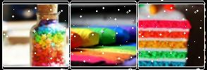 Rainbow stuff by CosmicStardustTea