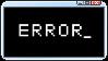 ERROR STAMP by CosmicStardustTea
