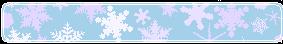Snowflake divider 1 by CosmicStardustTea