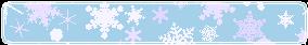 Snowflake divider 2 by CosmicStardustTea