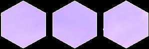 Purple Hexagon by CosmicStardustTea