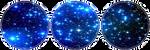 Blue Galaxy by CosmicStardustTea