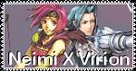 Neimi X Virion Stamp by CosmicStardustTea