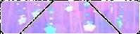 Purple Sparkly Stars by CosmicStardustTea