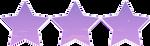 Purple Sky Stars by CosmicStardustTea