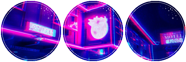 Neon Street by CosmicStardustTea