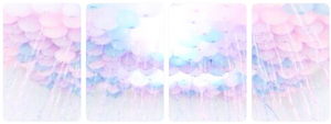 Pastel Balloons by MissToxicSlime