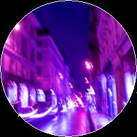 Glow Streets by MissToxicSlime