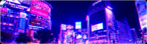 Glowing City by CosmicStardustTea