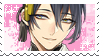 Mikazuki Munechika Stamp by MissToxicSlime