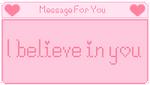 I Believe In You by CosmicStardustTea