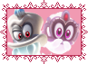 Cappy and Tiara by CosmicStardustTea