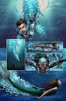 The Little Mermaid #5 by jadecks