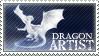 Stamp - Dragon Artist by ValkAngie