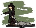 Van Helsing Chibi by ValkAngie