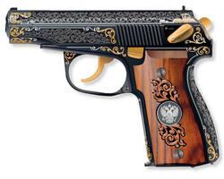 Makarov the russain pistol by mohamedfreezer