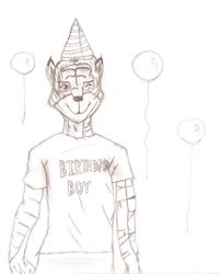 Happy Birthday Rory! (TheTigerWolf55) by Bloodstainedfur88
