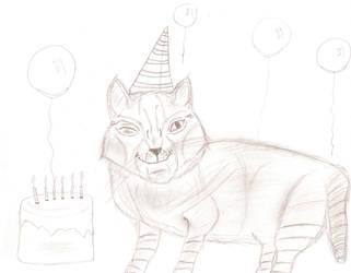 Happy Birthday Sara! (EiraTheGuardian) by Bloodstainedfur88