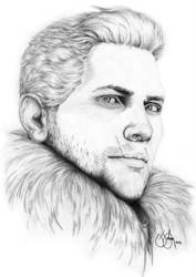 Dragon Age: Inquisition - Cullen Rutherford by purplerobyn