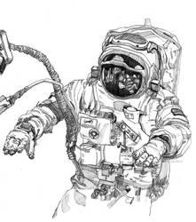 cosmonaut by Spiritius