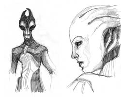 ME: aliens II by Spiritius
