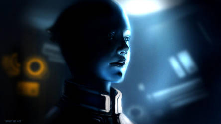 ME2: Liara by Spiritius