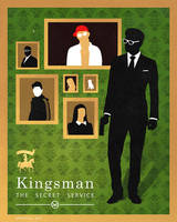Kingsman: poster [1] by Spiritius