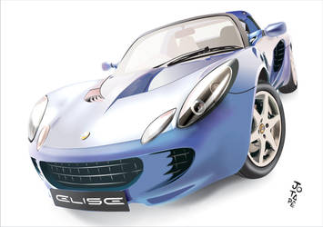 Lotus Elise by jotapehq