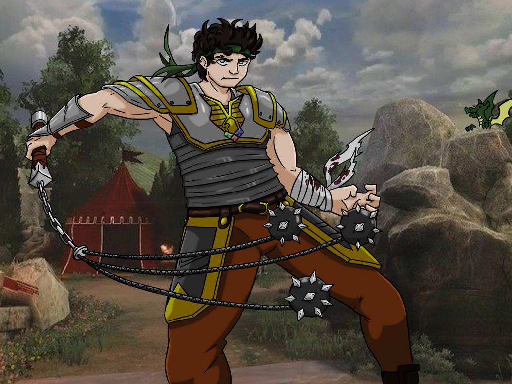 Jon Gladiator (Commission) by SmashMac