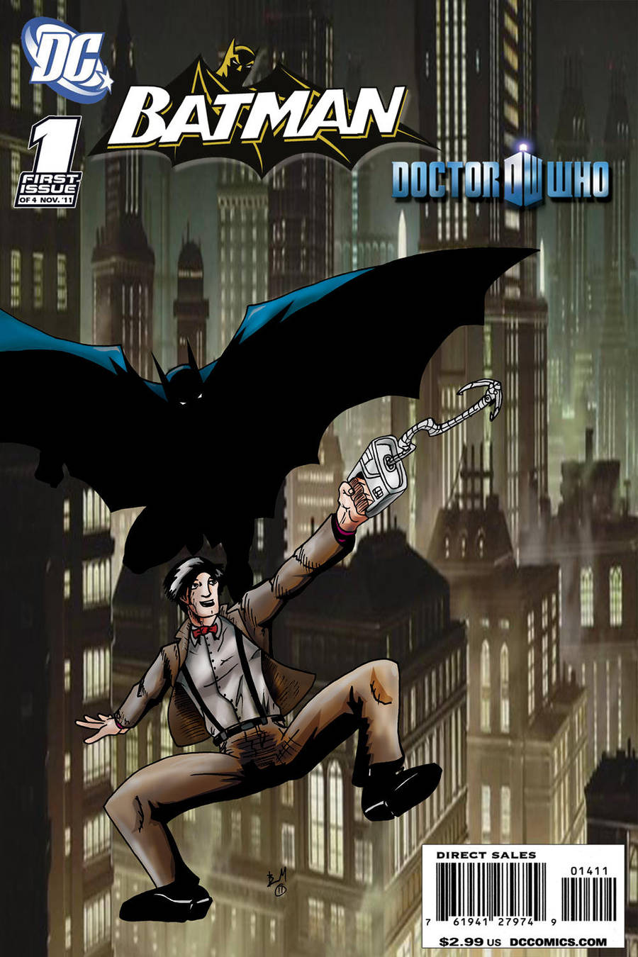 Batman Doctor Who 1 by BradMatthews