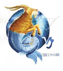 Capricorn by carowi