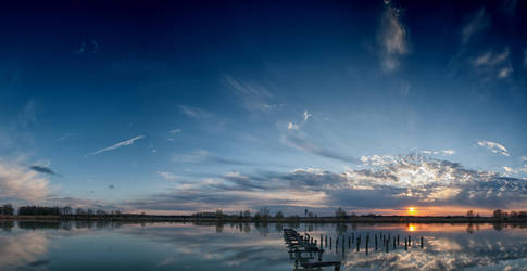 Panorama of the calmness by adamcroh
