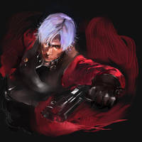 Dante, Devil May Cry by amatoy