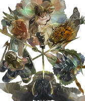 tactics ogre - six gods by amatoy
