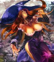 Sorceress by amatoy