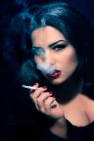 smoking beauty by CissiJoe