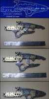 Splicer Stabber - Steampunk Split-Blade by AetherAnvil