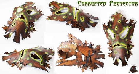 Corrupted Protector - Fallen Treant by AetherAnvil