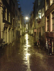 Amsterdam rainy Delights by JacobBakk