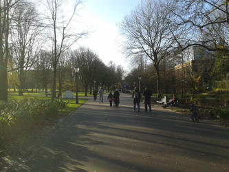 Amsterdam oosterpark in December 4 by JacobBakk