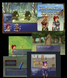 Dunmakia print screens by CrimsonWolf64