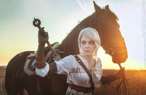 The Witcher 3:Wild Hunt- Ciri by DamnAvenger