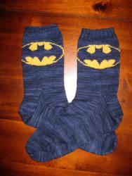 Batman socks by BRuppert