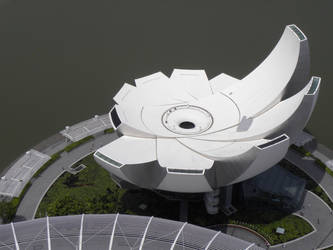 ArtScience Museum at Marina Bay Sands by isfahangraphic