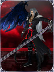 Dissidia NT - Sephiroth (One Winged Angel) by KylieStylish