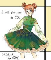 Lolita Dress - Chinese style by blurryciel