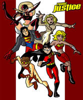 Young Justice by theRedDeath888