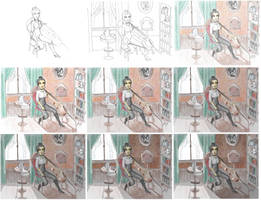 Step by Step - Cello Time - Naily by YERDUA