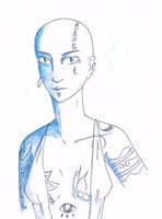Blue-eyed Tresja by YERDUA