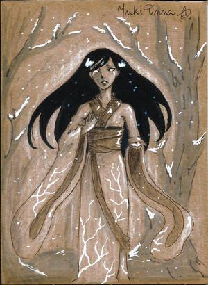 Monstober: Yuki-Onna by YERDUA